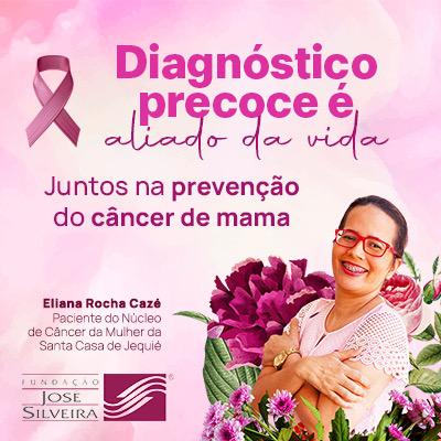 Fundação José Silveira (Outubro Rosa) 05/10 a 31/10 Móbile