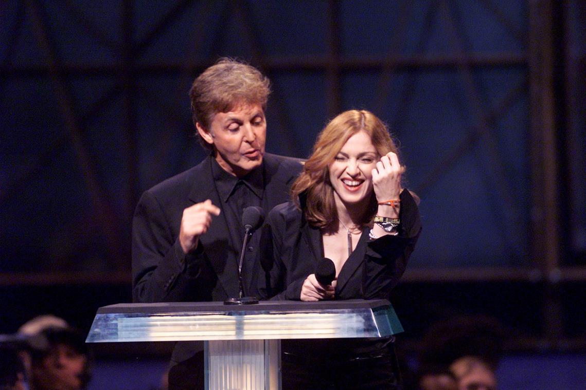 Foto: Madonna e Paul McCartney
